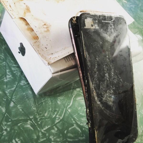 Explosion iPhone 7