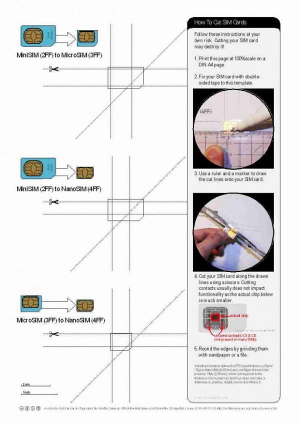 nano-SIM to micro SIM