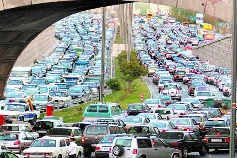 اپلیکیشن ترافیک تهران