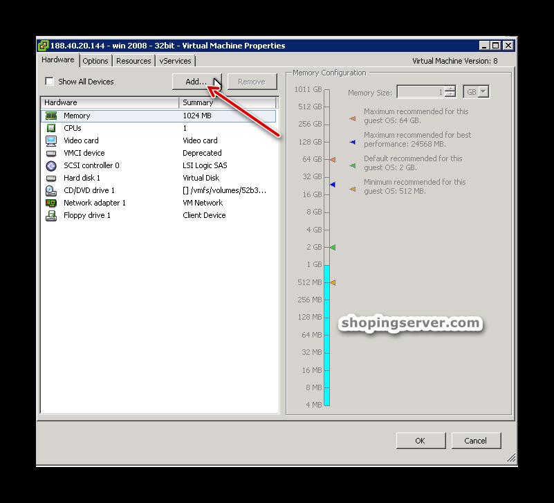 آموزش اضافه کردن کارت شبکه به ماشین مجازی (vmware)