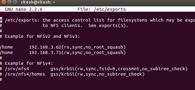 """چگونگی کار آپشن Sync در فایل""""/etc/exports"""""""