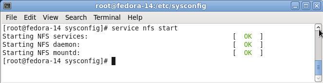 کارکرد /etc/sysconfig/nfs