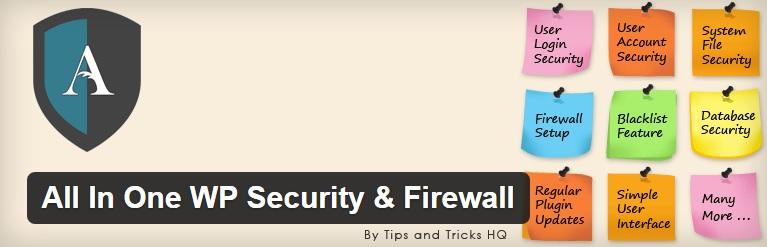 معرفی پلاگینAll In One WP Security & Firewall