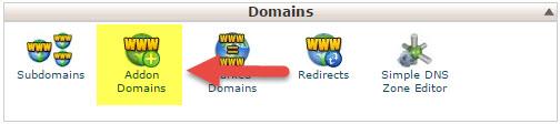 ساخت Addon Domain در هاست لینوکس در cPanel