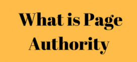 What is Page Authority