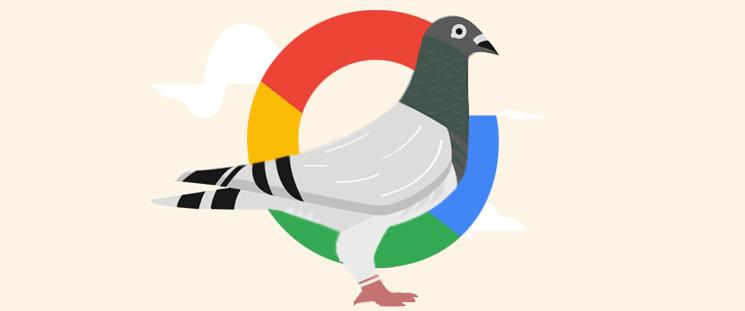 آشنایی باالگوریتم کبوتر گوگل