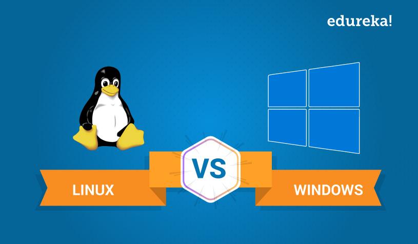 تفاوت های لینوکس و ویندوز