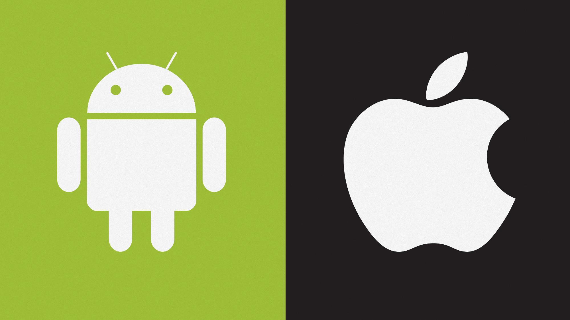 تفاوت های سیستم عامل Android وIOS